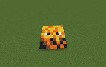 Blaze 8x8 Pixel Art