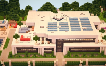 Minecraft Houses and shops creations 124