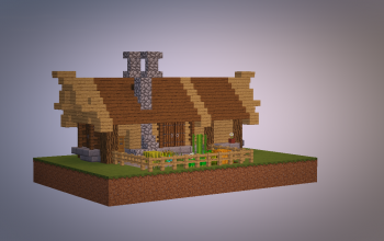 Small Start Medieval House