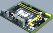 Intel H87M-PRO (ASUS)
