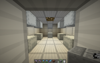 Safe Room With 10 Shulker Boxes Containing Super-OP Diamond Toolkit Set