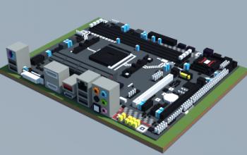 AMD B350M-MORTAR (MSI)
