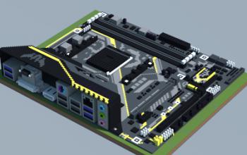 AMD B350M-PLUS GAMING (ASUS TUF Series)