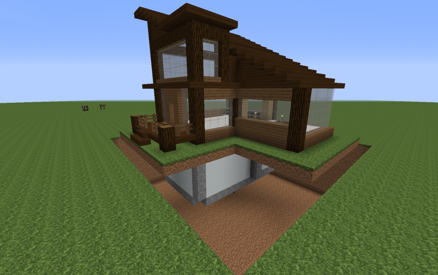 Aykaytee S Modern Survival House Creation 11330