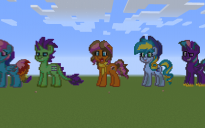 Pony Ship OCS Pixel Art
