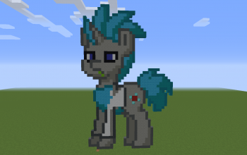 Rick Sanchez Pony Pixel Art