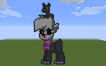 Mangle Pony Pixel Art