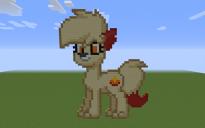 Fennekin Pony Pixel Art
