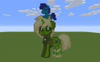 Peridot Pony Pixel Art