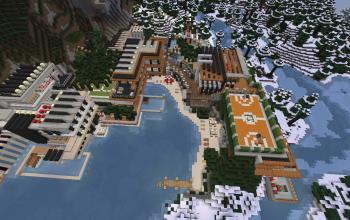 Minecraft Modern Mansion