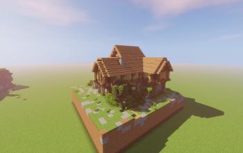 Farm house with cellar