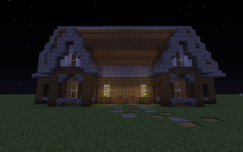 Minecraft- Medieval House