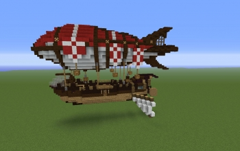 Minecraft Flying machines creations