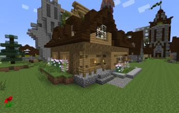rich village house