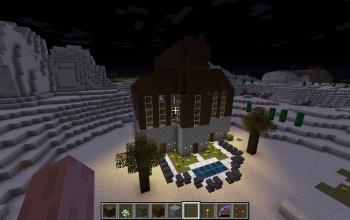 Dark Oak Wood House