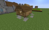 tiny village house