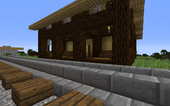 Old style train station