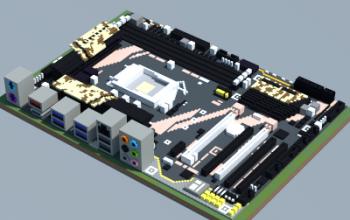 Intel GA-X150-PRO ECC (Gigabyte)