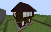 small medieval house