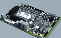 Intel Z370-HD3 (Gigabyte)