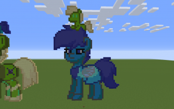 Lapis Lazuli Pony 2D