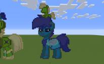 Lapis Lazuli Pony Pixel Art