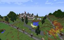 Красивый дом, с красивой территорией