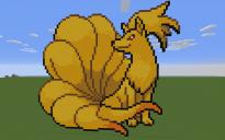 Ninetales Pixel Art