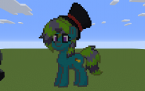 Atlantic Banana Pony Pixel Art