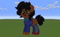 Camp Camp Max Pony Pixel Art