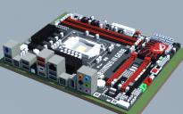 Intel P55 MAXIMUS III GENE (ASUS ROG Series)