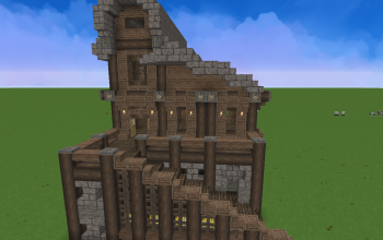 Minecraft Houses and shops creations