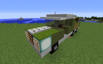 Small military truck