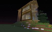big woodem house
