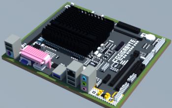 Intel GA-J1800M-D3P (Gigabyte)