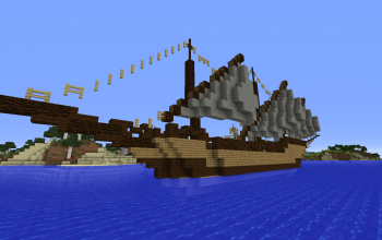 minecraft boats creations 2
