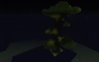 ultra huge jungle tree