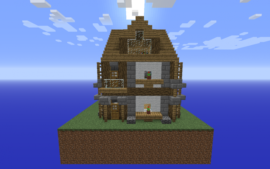 Minecraft schematics the minecraft creations and schematics small medival house gumiabroncs Gallery