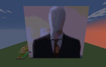 Slenderman Pixel Art