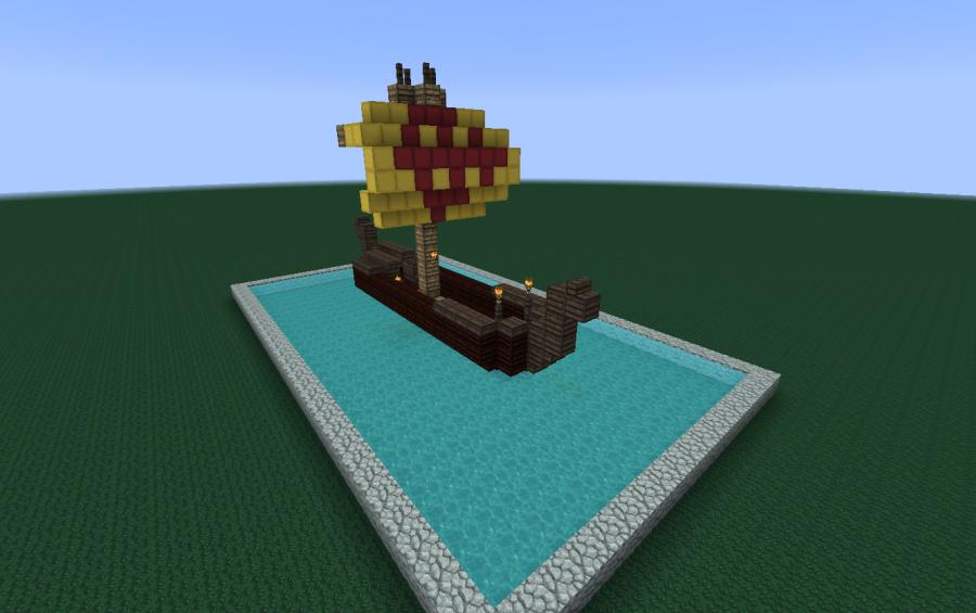 Viking Ship [Small], creation #1205