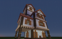Medieval House 01 by 3Tri´s