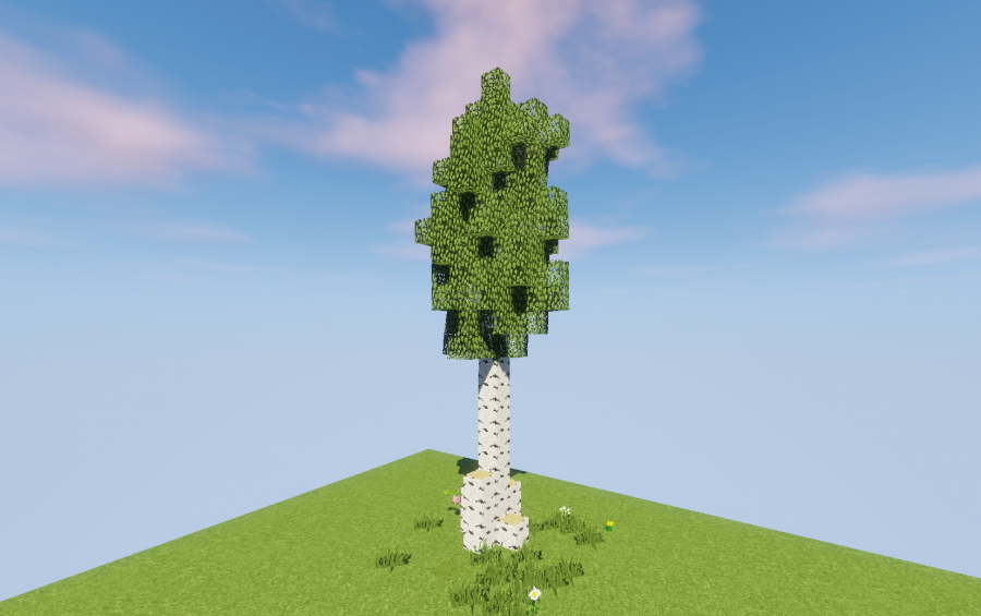 Birch Tree(Custom), creation #12071