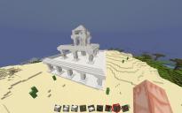 Medium Greek-esque Quartz Temple