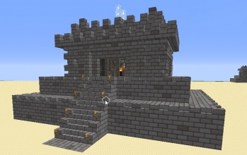 Temple with Secret Base
