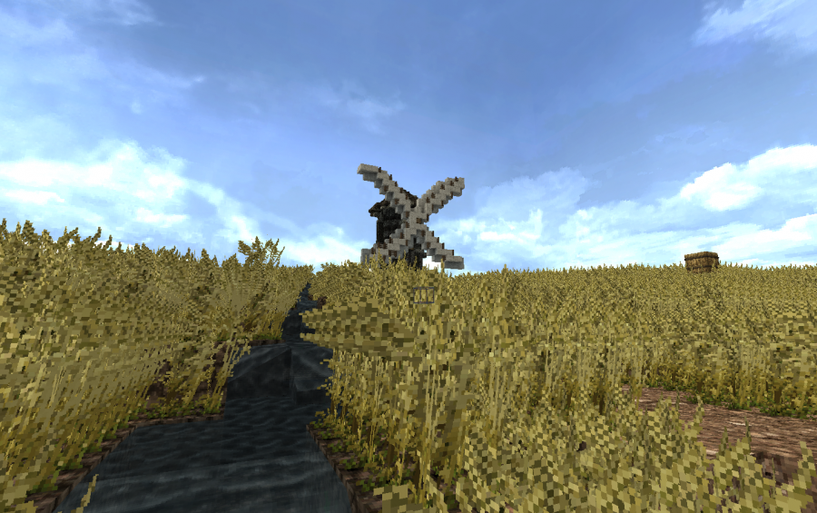 Medieval Windmill Creation 12248