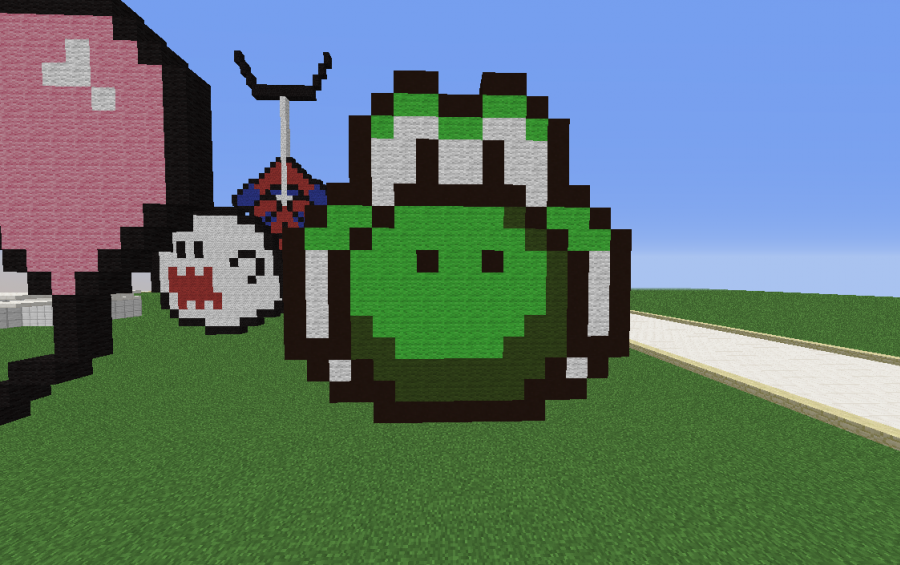 Ideas For Pixel Art Yoshi @KoolGadgetz.com