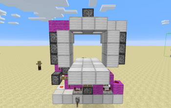 3x3 Piston Door FAST!!!!!