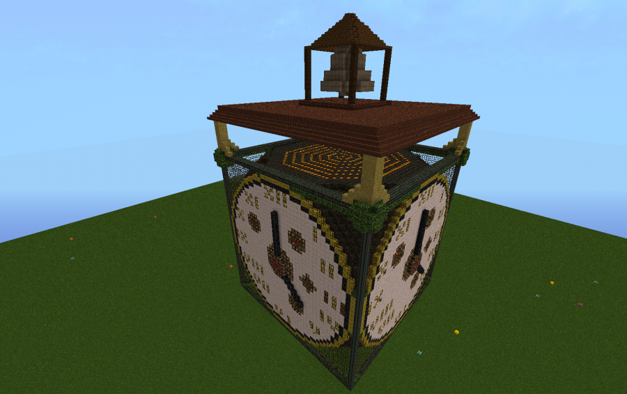 Clock Tower Topper Creation 1238