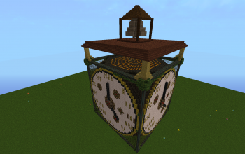 Clock tower topper