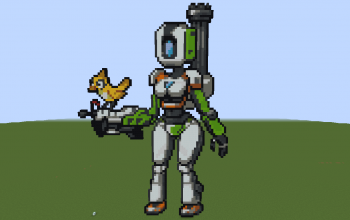 Bastion (Version Girl) (Overwatch)